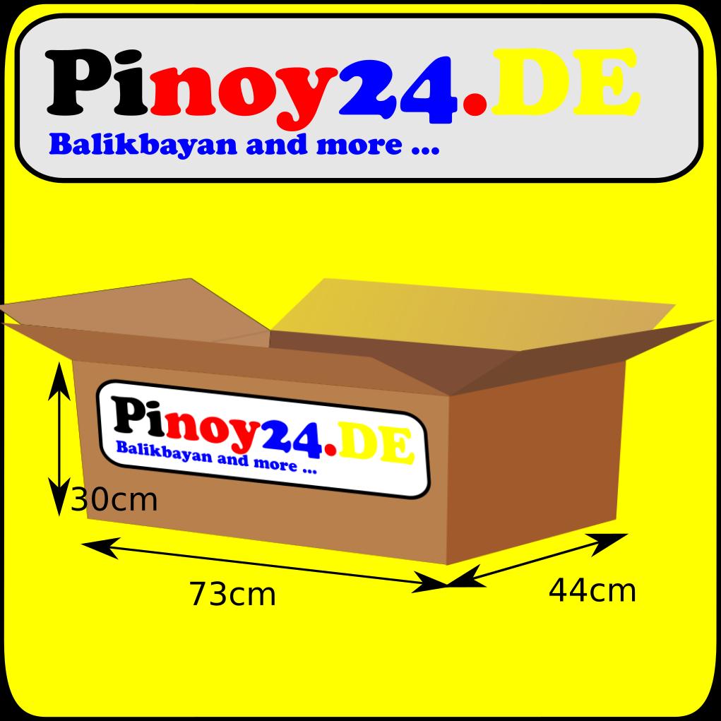 Halbe Balikbayan Box Leerkarton